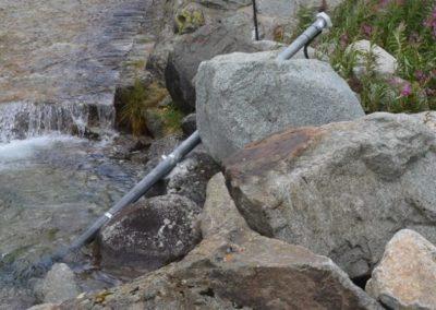 Surveillance de la qualité des eaux d'un chantier