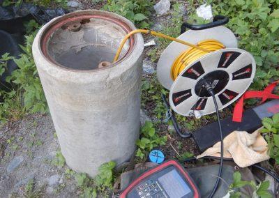 Inklino- und Porenwasserdruck-messungen SiSto Crapteig