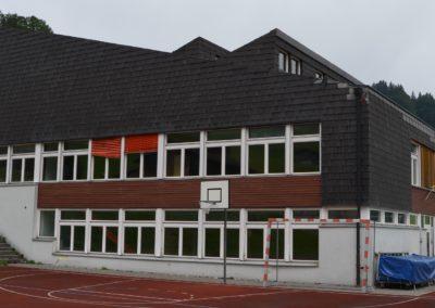 Bauschadstoffuntersuchung an einem Schulhaus